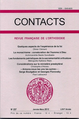 Contacts, n° 237