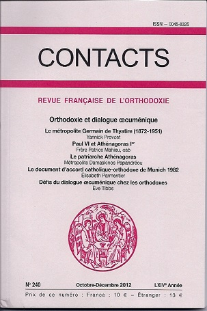 Contacts, n° 240