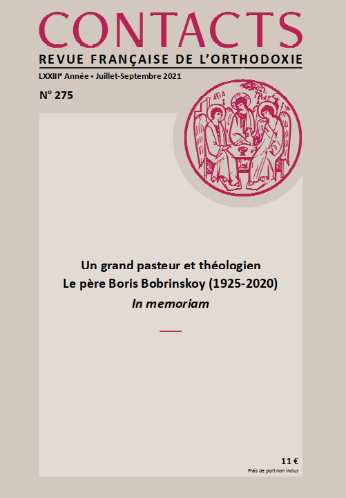 Revue Contacts n° 275